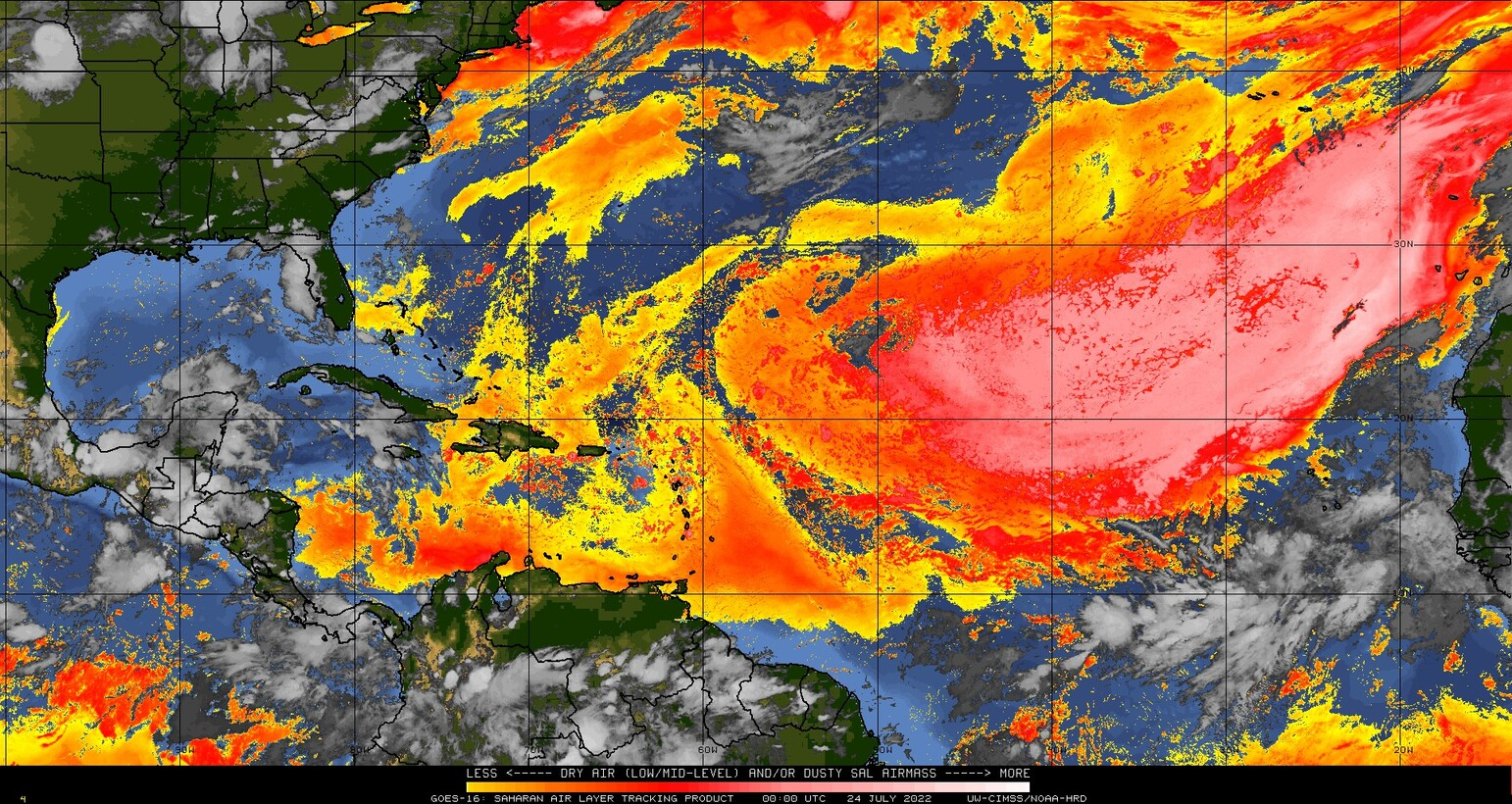 Saharan Air Layer (SAL)