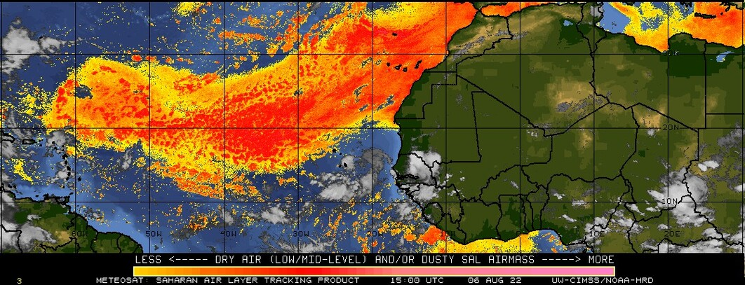 Saharan Air Layer Tracking