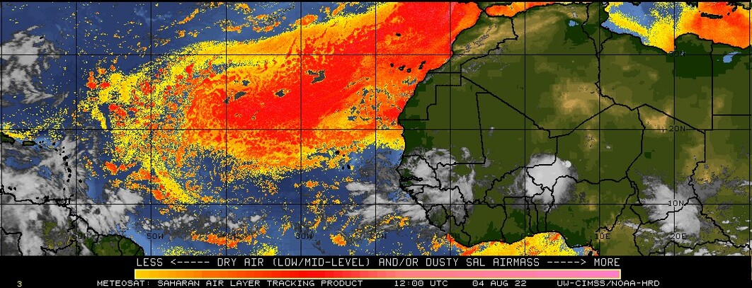 Saharan Air Layer latest