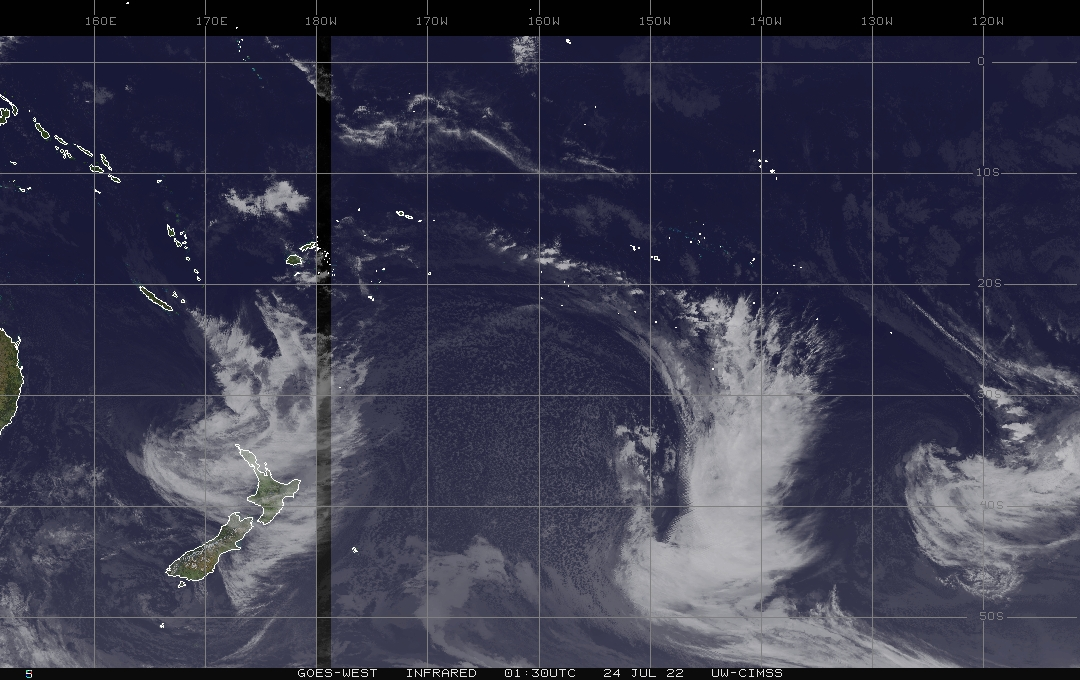 Satellite Weather New Zealand